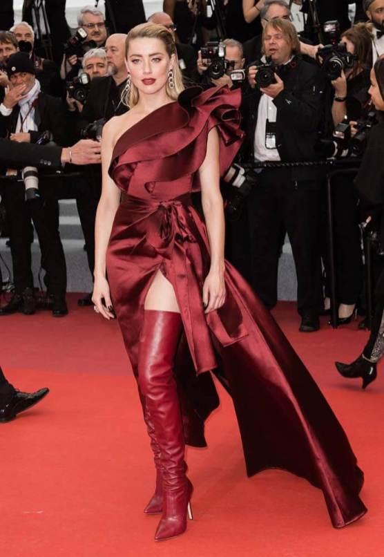 Amber Heard in Elie Saab
