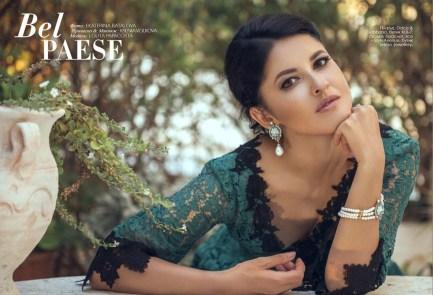 Dress, Dolce & Gabbana, KUL-T boutique; earrings, bracelet, all - StyleAvenue, Telezo Jewellery boutique.