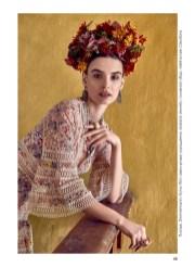 Dress, Zimmermann, First boutique; jewelry, Iordanis Jewelry; headpiece, Melina-Lee Creations
