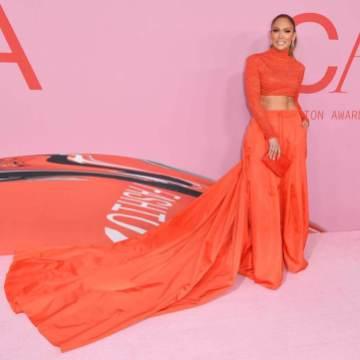 Jennifer Lopez in custom Ralph Lauren