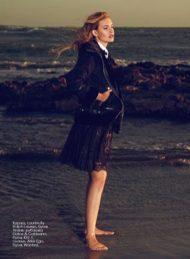 Jacket, Lauren By Ralph Lauren, Timinis boutique; shirt Dolce & Gabbana, KUL-T boutique; dress, Alter Ego, Wanted boutique.