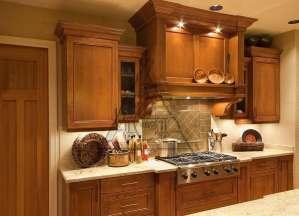Кухня из массива: солидно, модно, стильно
