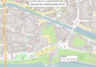 15Plan de circulation Quartier du Port