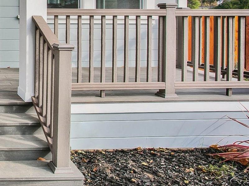 Deck Railing Porch Railing Patio Railing Options By Moistureshield | Outdoor Balustrades And Handrails | Timber | Railing | Verandah | Beautiful | Industrial Hand