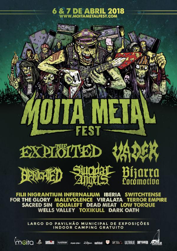 Poster Moita Metal Fest 2018