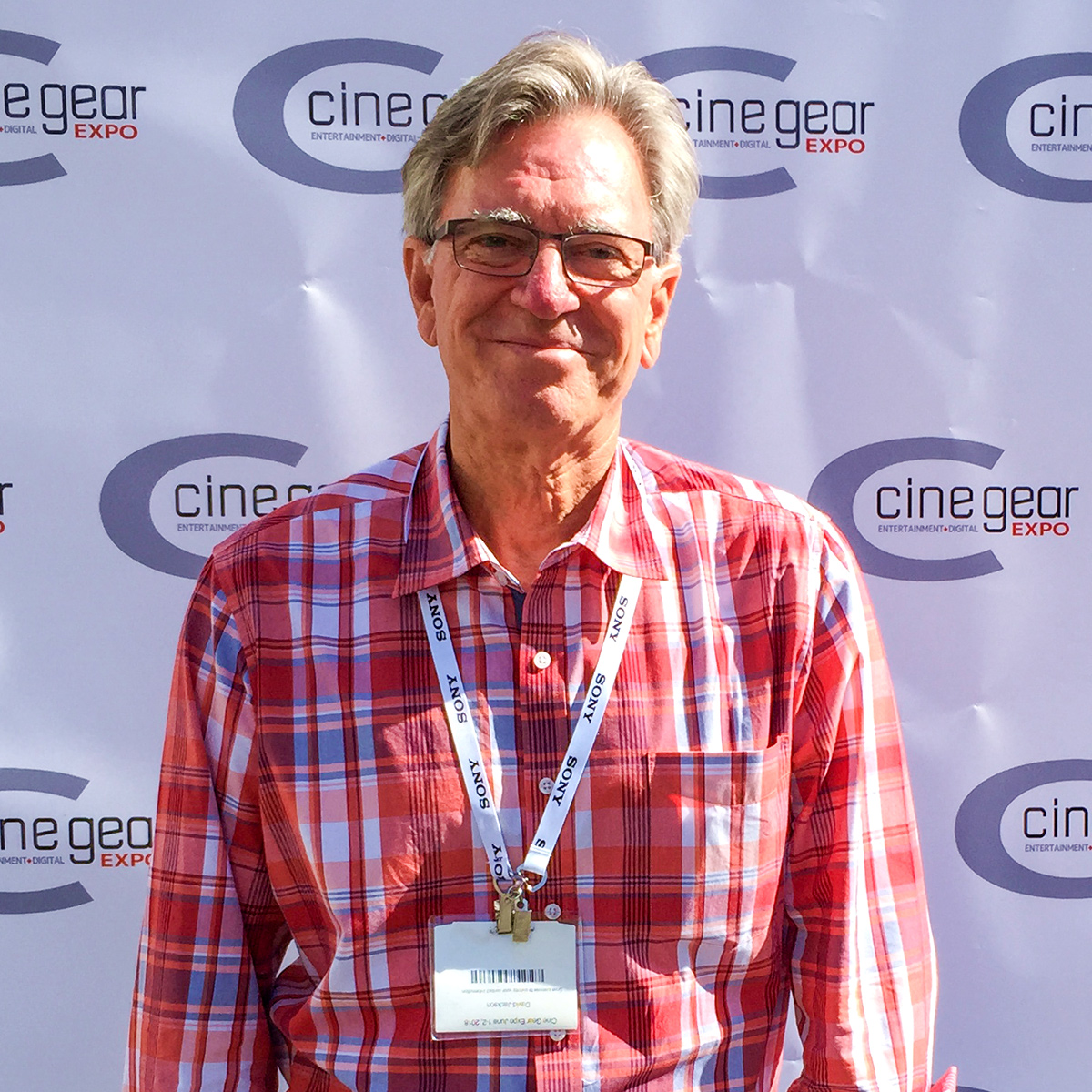 David Jackson executive producer of Food Over 50 at CineGear Expo