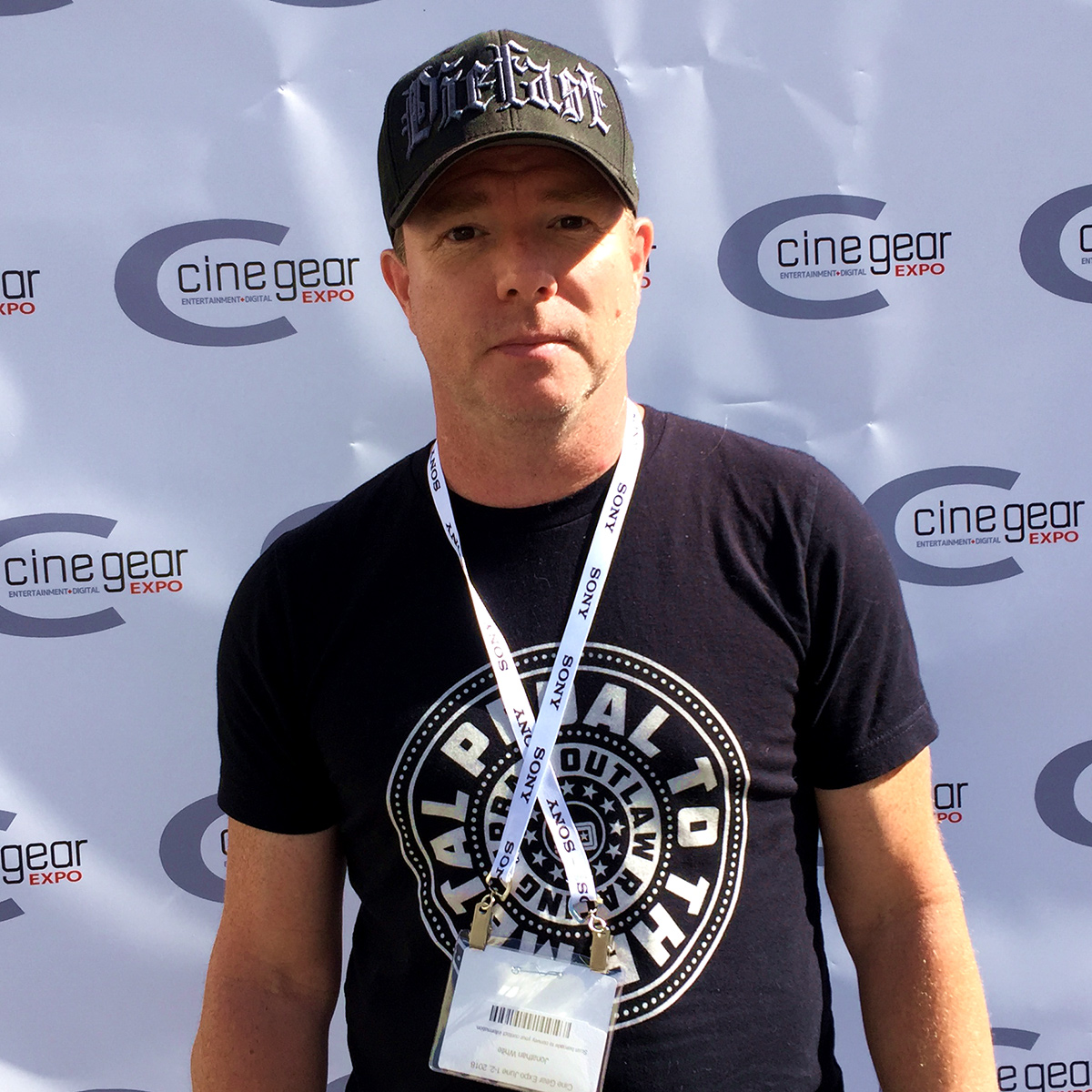 Jonathan White director of Food Over 50 at CineGear Expo