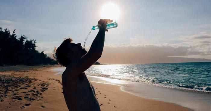 Únava môže byť aj dôsledkom nedostatku vody a teda zlého pitného režimu.