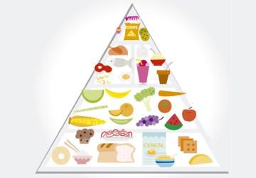 Potravinová pyramída a výživová pyramída