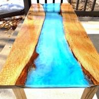 Epoxidový stôl dokáže do vášho interiéru priniesť krásu Amazonky v pralese