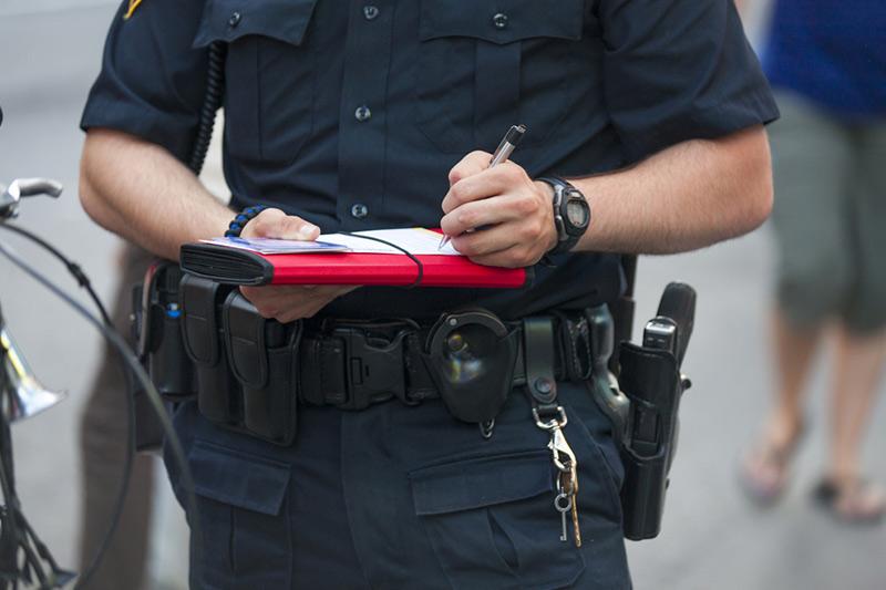 Jazda bez dowodu rejestracyjnego może skończyć się mandatem