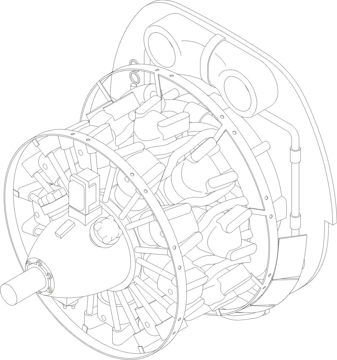 B 26 Marauder Silnik Has Cmk