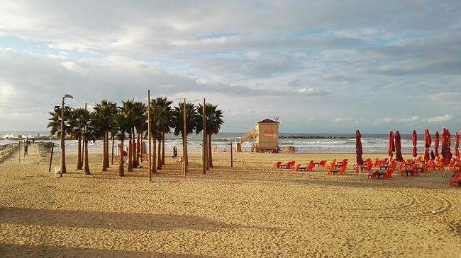 Plaža Tel Aviv. Foto: Ivana Kovačević