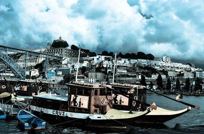 Barke koje voze do vinarija. Foto Ljubica Stevanović