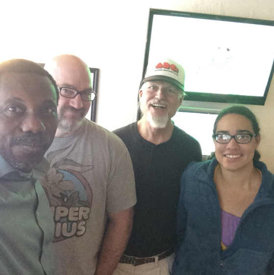 From Left), MUYIWA KAYODE, Creator and Executive Producer; DON MANGAN, Producer; ARTIE ROMERO, Director; GRETCHEN PIPER, Project Manager.