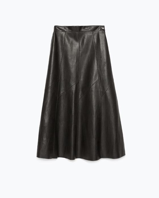 Zara_Fur_faux_skirt