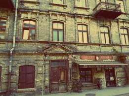 Uzupis in Vilnius - ein altes Haus