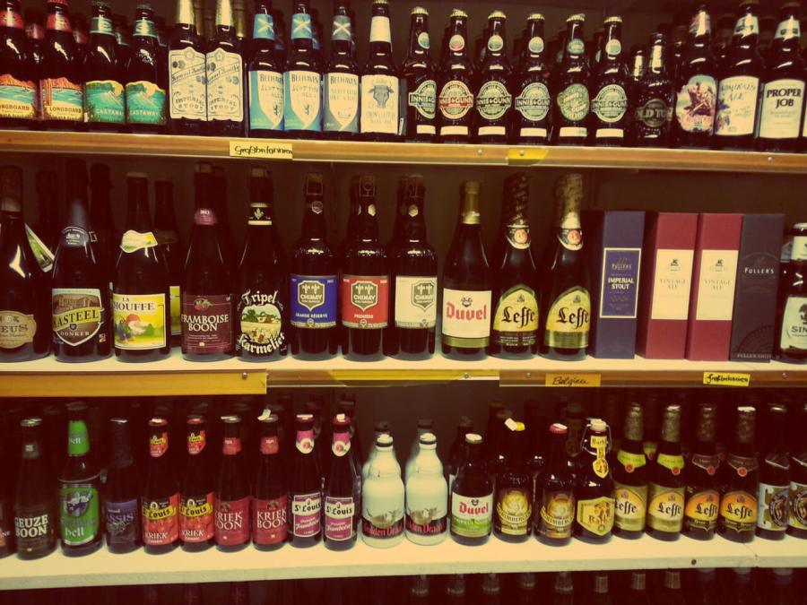 Craft-Beer-Sorten im Bierland HAmburg