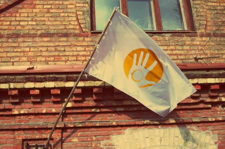 Die Flagge vo Uzupis
