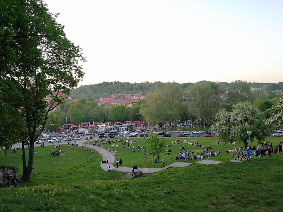 Vilnius im Sommer Open Kitchen