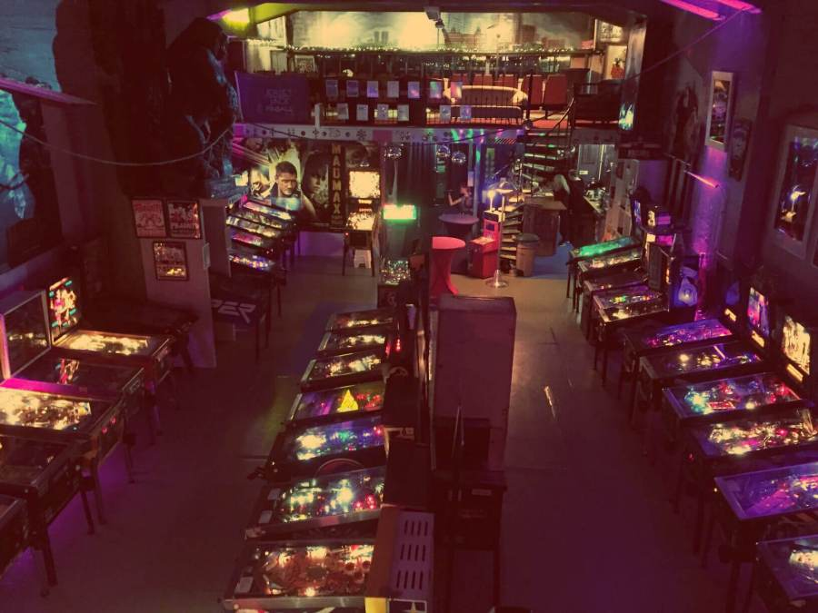 Katendrecht in Rotterdam entdecken. Dutch Pinball Museum