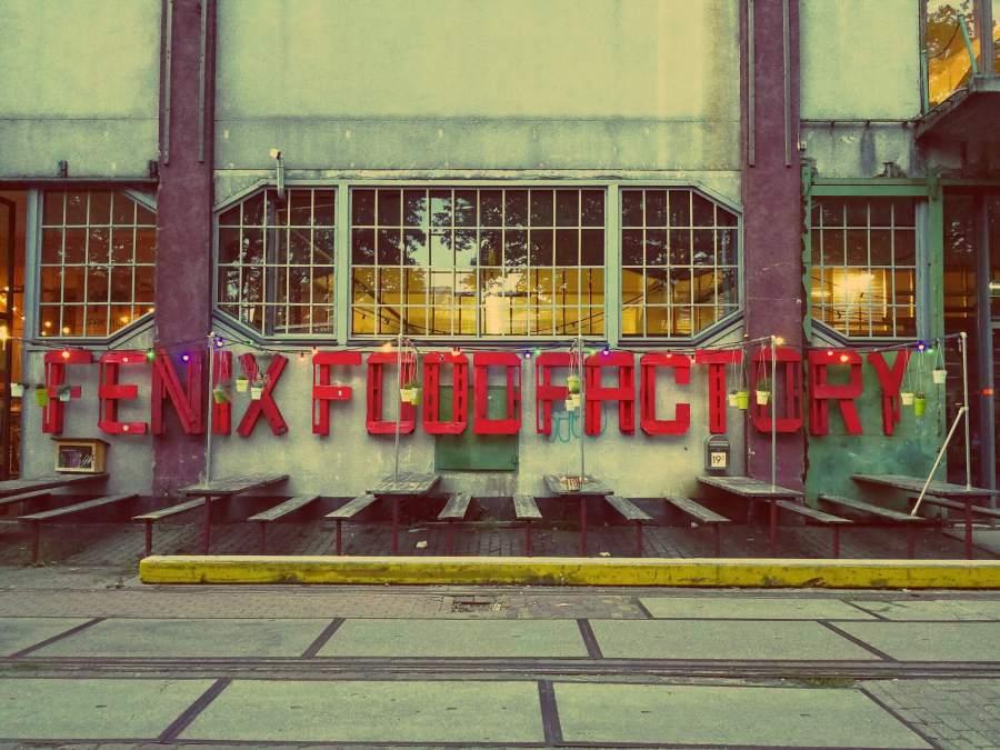 Katendrecht in Rotterdamm entdecken. Fenix Food Factory