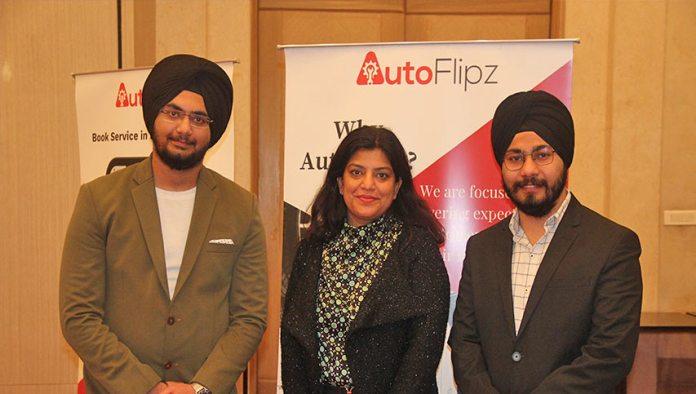 LtoR Harpreet Singh, Founder, Sonia Walia,CFO, Japjot Singh, Co-Founder