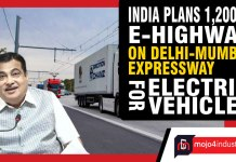 India plans 1,200 km e-highway on Delhi-Mumbai Expressway for electric vehicles