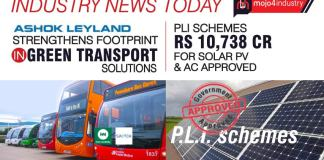 PLI schemes worth Rs 10,738cr for solar PV & white goods approved   Industry News Today