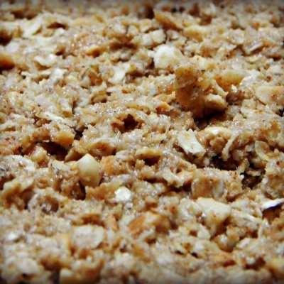3 ingredient, no bake oat bars