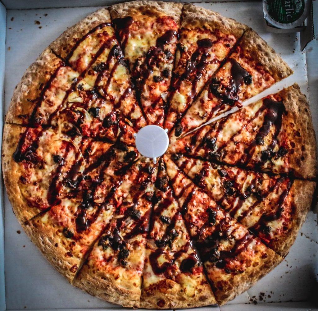 Papa John's BBQ Beef Brisket Pizza