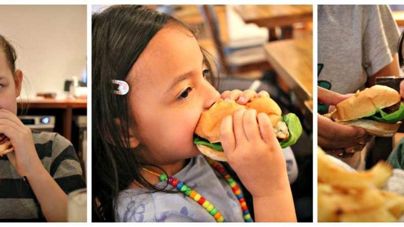 Handmade Burger Co Kids Menu Review
