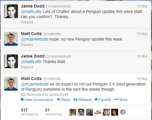 Penguin Algorithm Update