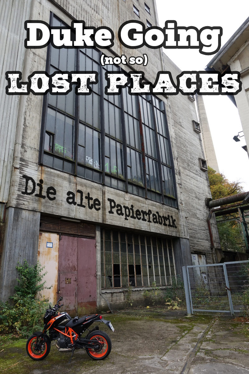 Michael Karlsruhe Lost Places the argumentation that