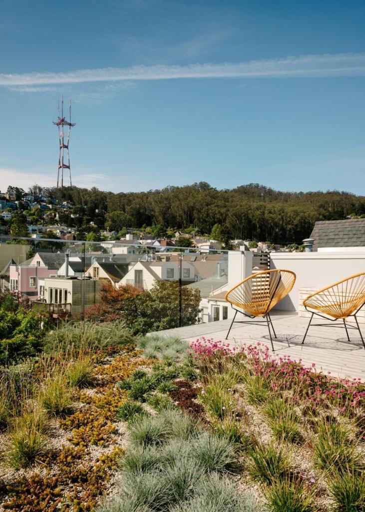 Krovna terasa - zelena oaza u središtu grada
