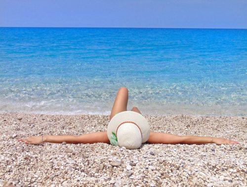 Lefkada, Milos plaža