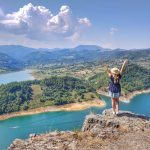 Vidikovac Velika stena na jezeru Rovni