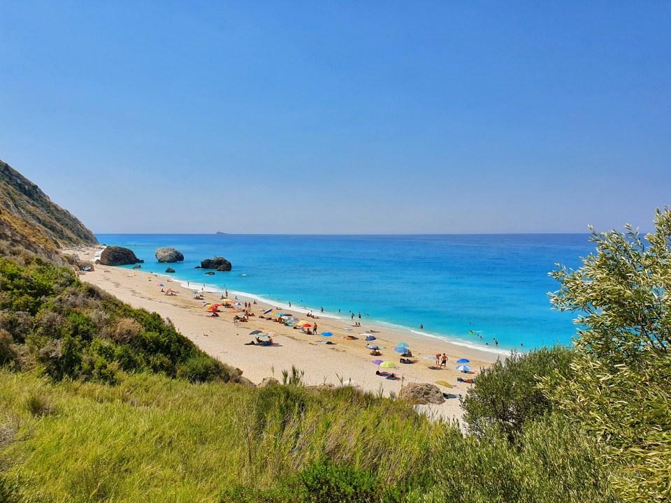 Plaža Megali Petra