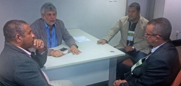 Reunião entre José Megale, Vereador Leandro Rocha e Prefeito IE IÉ garante avanços para Moju