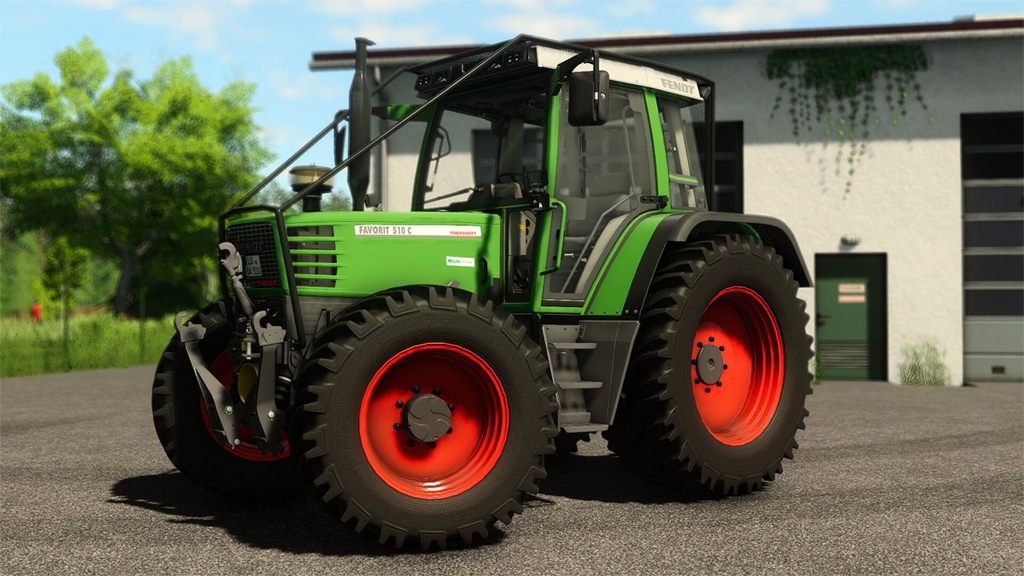 Fendt Favorit 500 C Pack