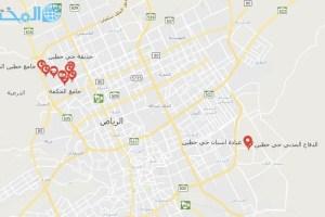 اين يقع حي حطين الرياض