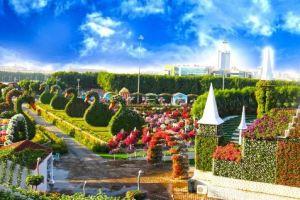 موقع الحديقة المعجزة في دبي اسعار الدخول