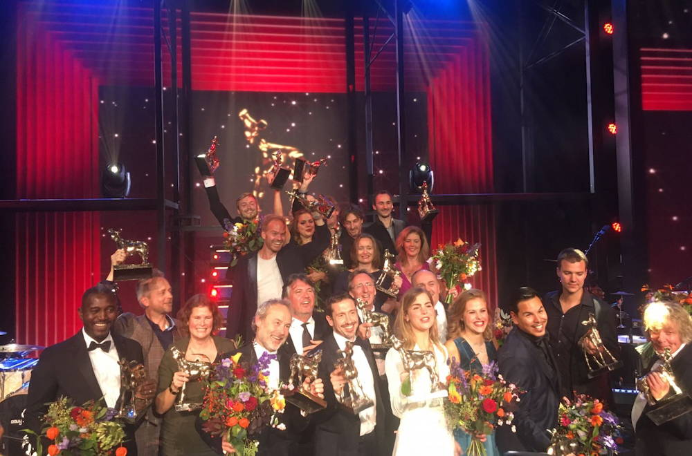 Winnaars op het Gouden Kalveren Gala 2016
