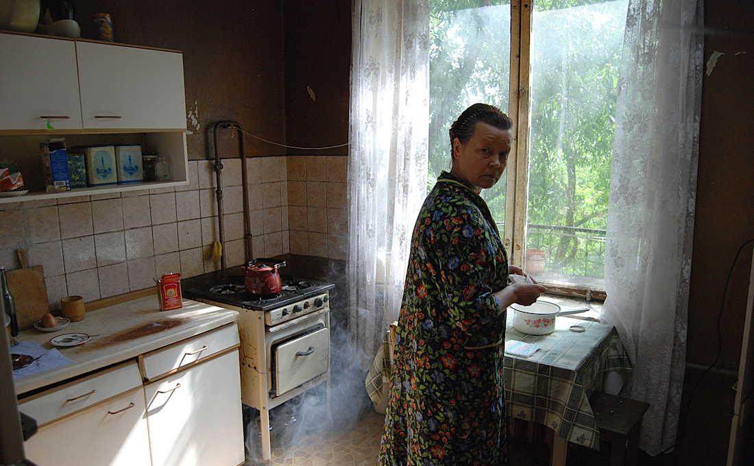 Mama - in de keuken