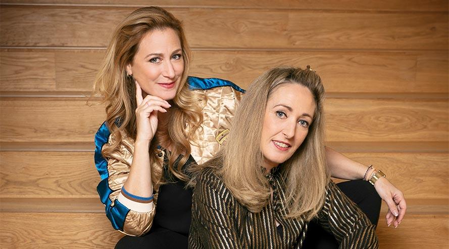 Fabienne & Isabelle: 'Als TMF VJ's zijn wij een soort van Fabeltjeskrant figuren geworden!'