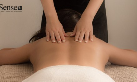 Massage op de wallen bij Sense Beauty & Lifestyle