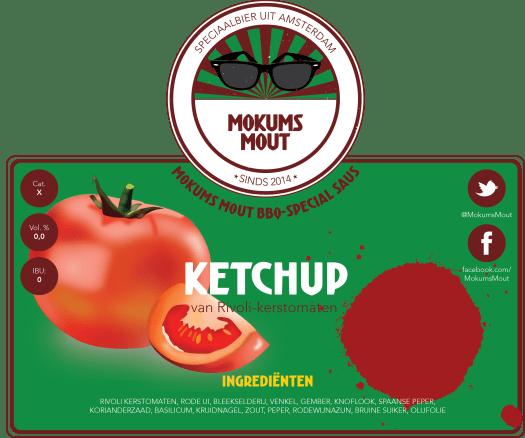 Mokums Mout Label Ketchup