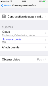 Configurar Mail Iphone 6s -10