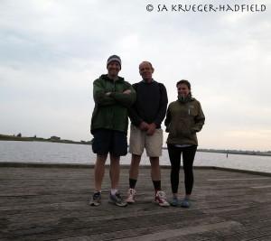 Erik, Florian and me
