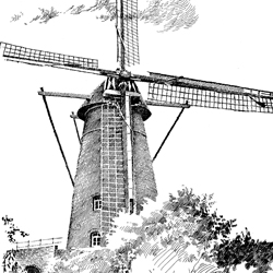 "Windmolen ""de Victor"""